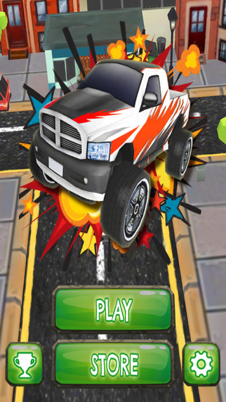 Pickup Monster Stunt Truck Rush - PRO - Extreme Obstacle Course Car Race Game