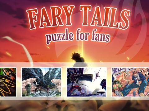 Anime Puzzle for fairy tail