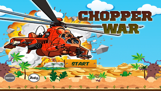 Chopper War - Copters Chaos Helicopter Simulator