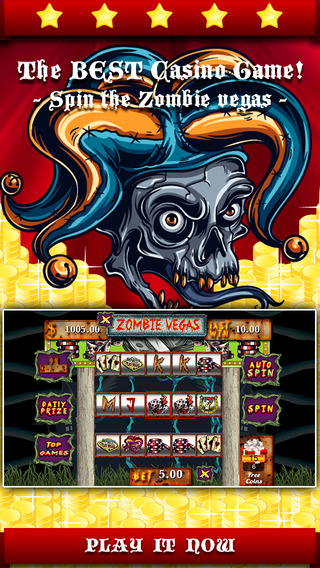 Ace Zombie Vegas Slots - Casino games for free