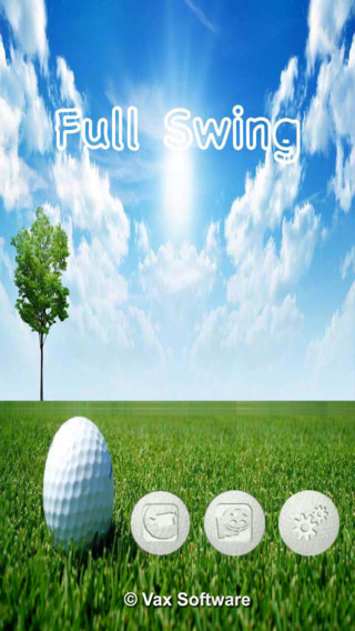 EzFullSwing - For managing user's video as golf swing.