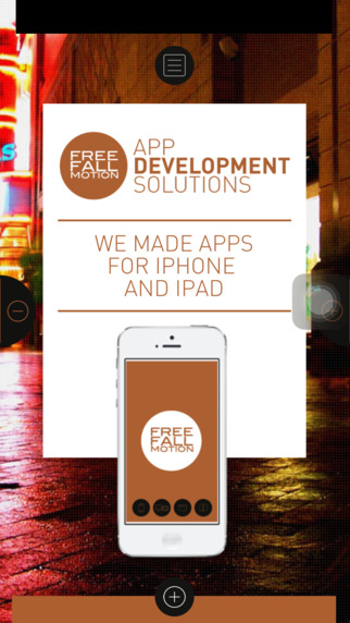 Freefallmotion Mobile Catalog