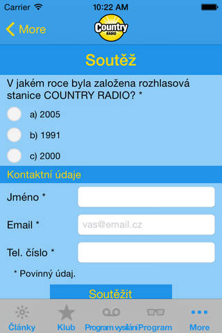 Country Rádio screenshot 4