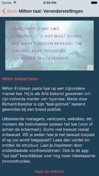 Milton taal