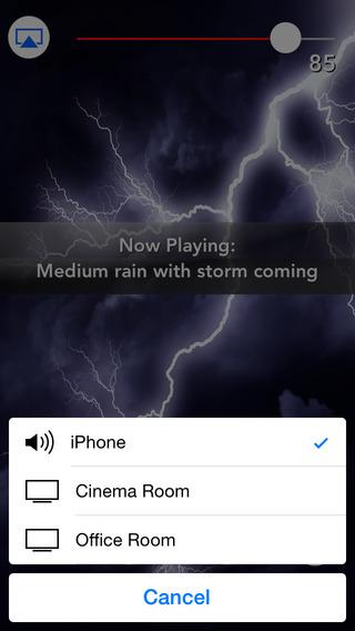 Sleepmaker Storms Pro iPhone Screenshot 2