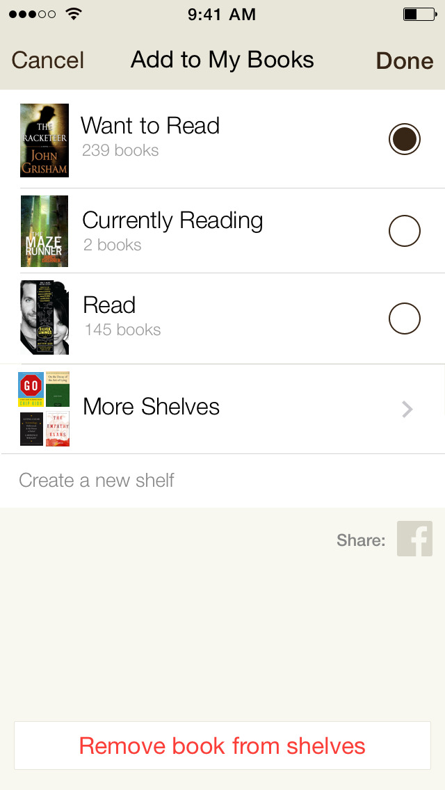 how to download free books from goodreads app
