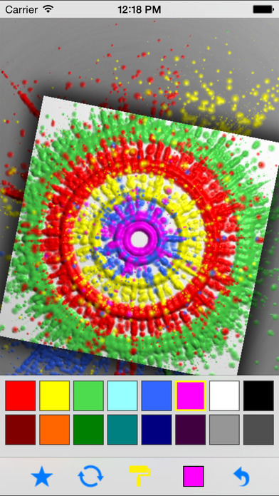 SpinArt Lite iPhone Screenshot 2