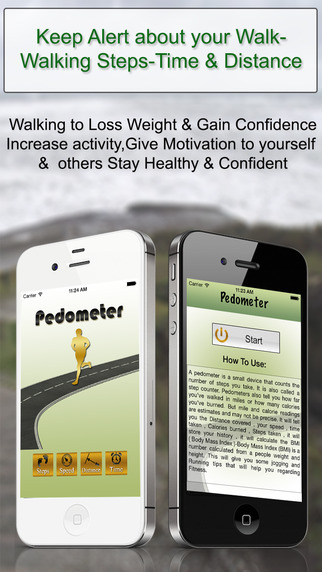 Pedometer BMI Calculator And Exercise Tips