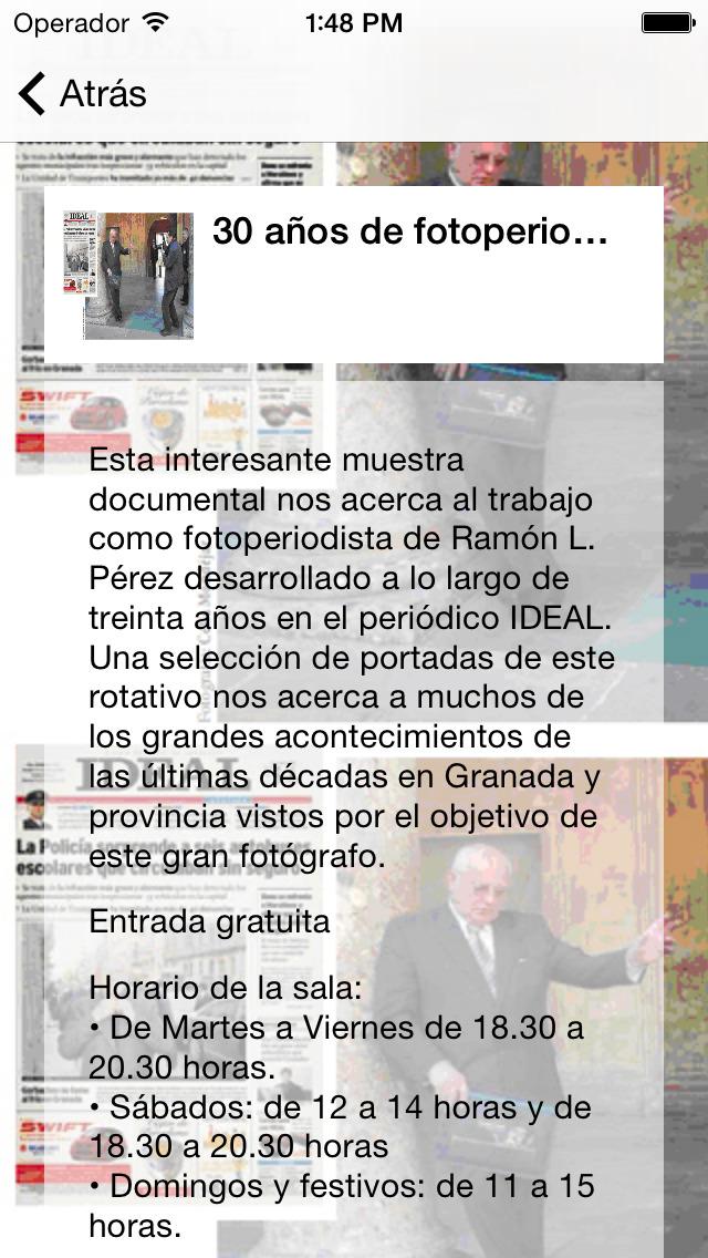 CajaGRANADA Fundacion Скриншоты5