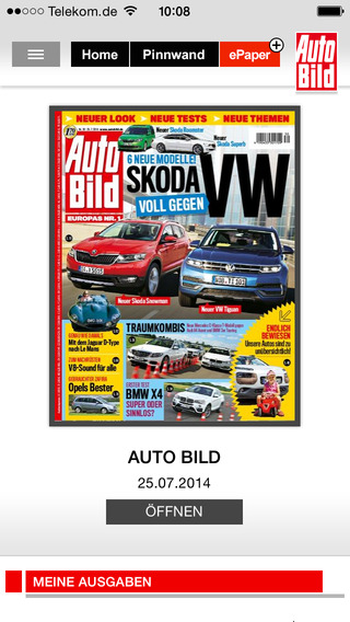 AUTO BILD Aktuell Screenshots