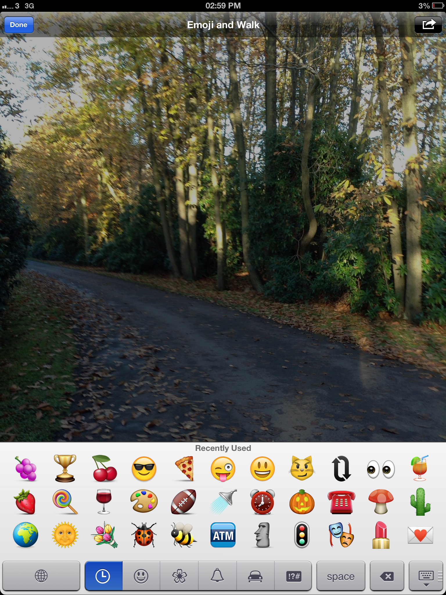 Emoji and Walk iPad