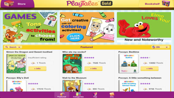 PlayTales Gold Kids' Books