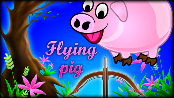 Kill the Flying Pigs - Funny shooting and hunting arcades game