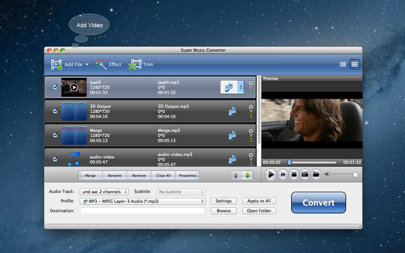 Super Music Converter Screenshot - 1