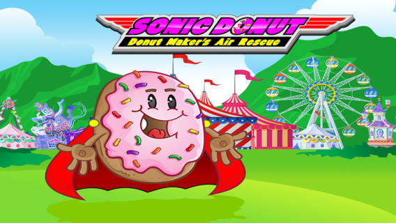 玩免費遊戲APP|下載Sonic Donut Donut Maker's Air Rescue app不用錢|硬是要APP