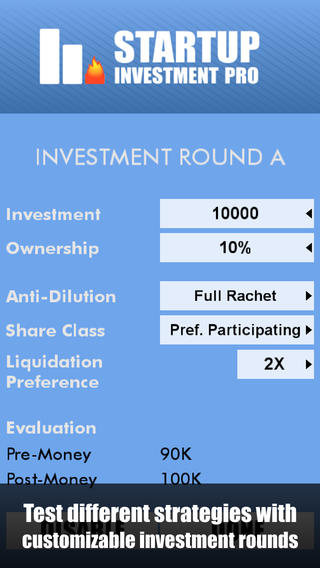 Startup Investment Pro