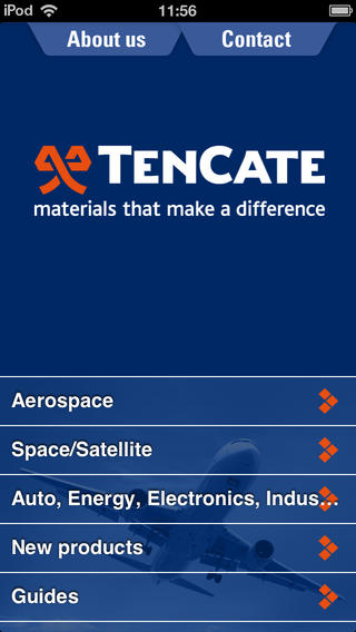 TenCate Product Selector Advanced Composites