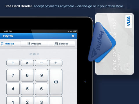 PayPal Here™ for iPad – Get Paid Anywhere