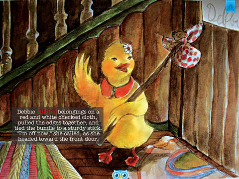 Good Luck Debbie Duck - Another Great Children's Story Book by Pickatale HD