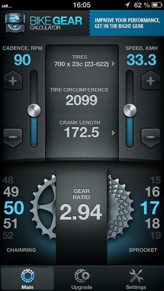 Bike Gears Free - Bike Gear Calculator free Cycling Gear Calculator Free