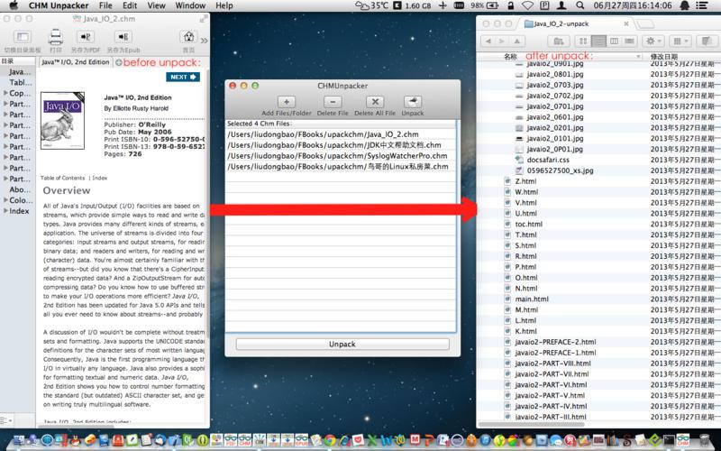 CHM Unpacker - CHM 文档元素提取[OS X]