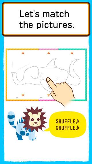 Shuffle Nurie 1-s iPhone Screenshot 2