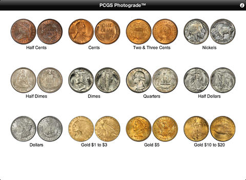 PCGS Photograde HD iPad Screenshot 4