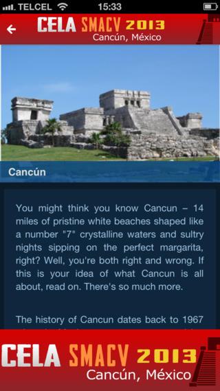 CELA SMACV 2013 Cancún, México