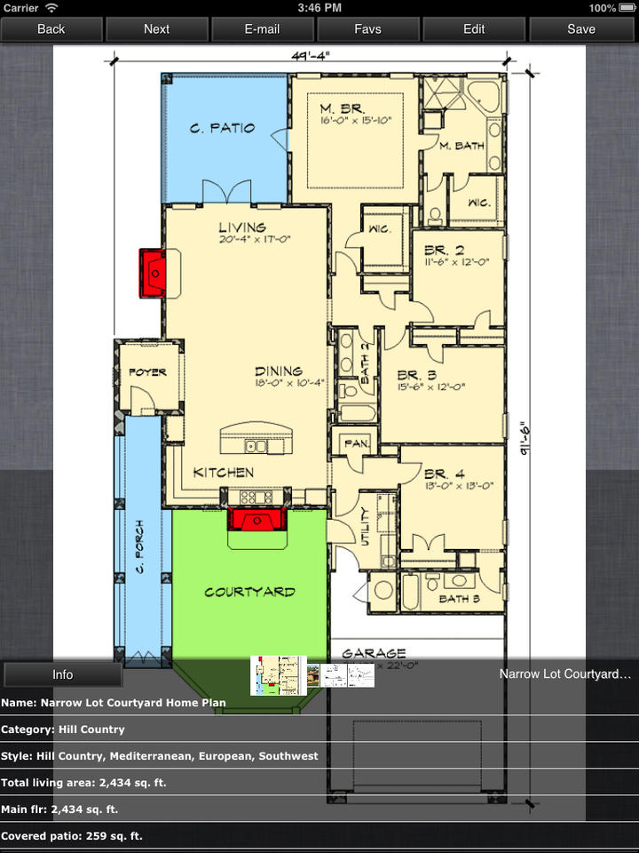 Hill Country House Design Family Home Plans Ios Store