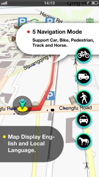 Cincinnati Map iPhone Screenshot 2