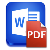Word to PDF Plus for Mac icon