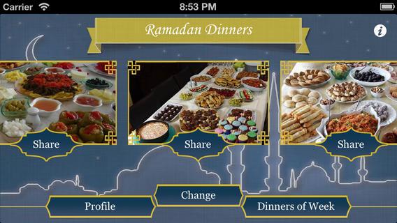 Ramadan Dinners