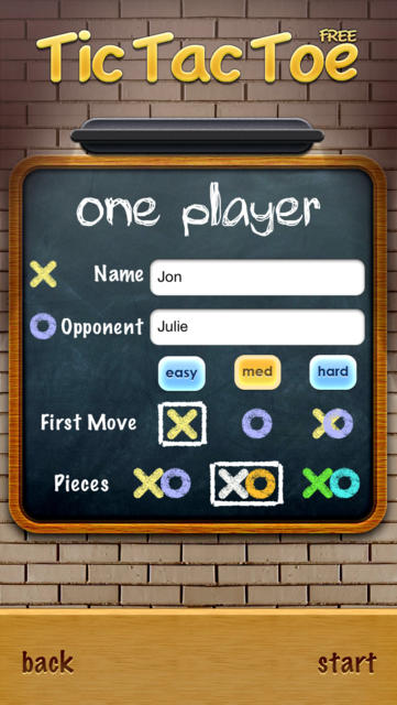 Tic Tac Toe Free - iPhone Mobile Analytics and App Store Data