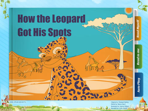 How the Leopard Got His Spots - Another Great Children's Story Book by Pickatale HD