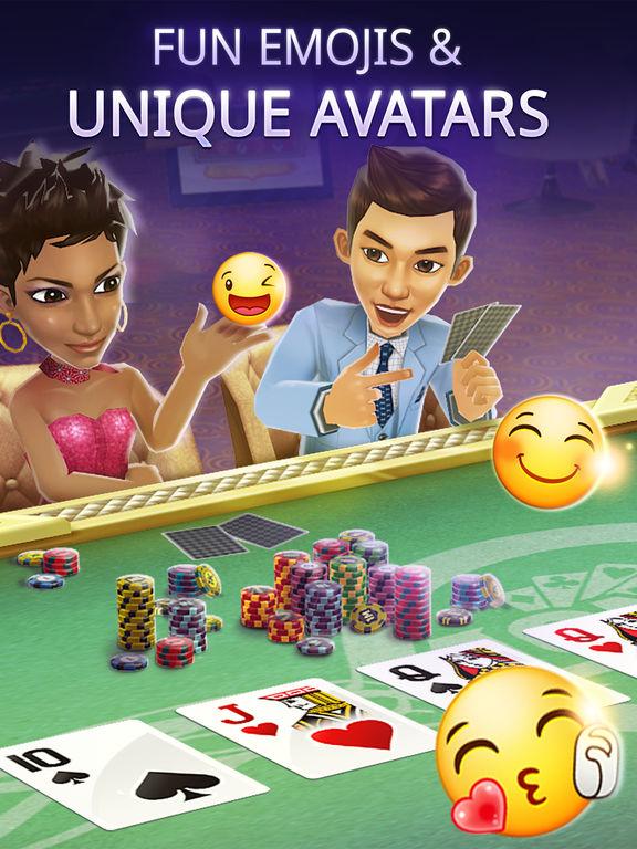 4Ones Poker - Texas Holdem Free Casino Card Game screenshot