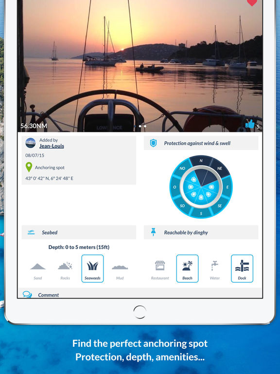 Navily – Your mobile cruising guide screenshot