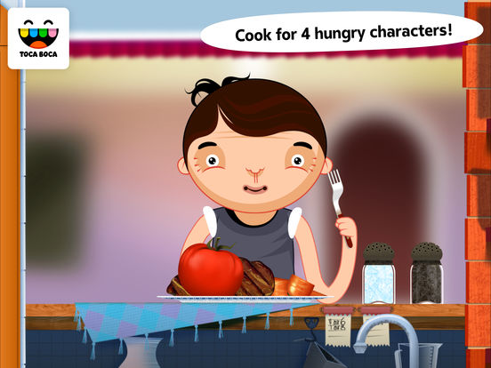 Screenshot #1 for Toca Kitchen