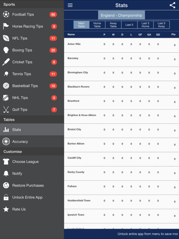 CG Tipster Sports Tips and Soccer Stats, Tips and Predictions screenshot