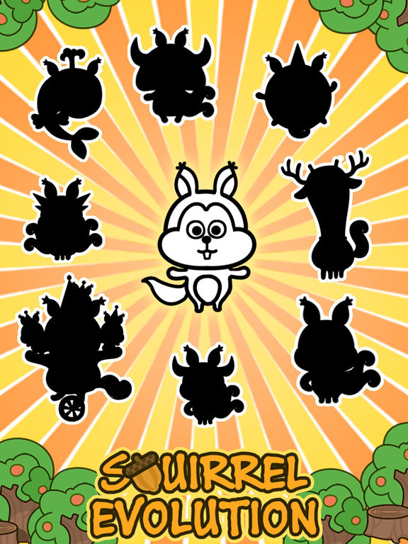 Squirrel Evolution - Tap Coins of the Crazy Mutant Simulator Idle Game-ipad-4