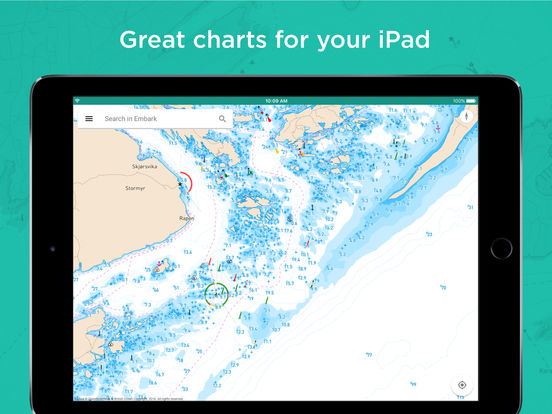 Embark: Your nautical charts for boating. screenshot