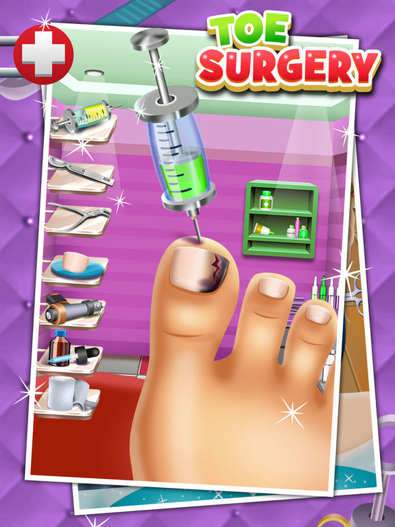 Nail Surgery Foot Spa Game