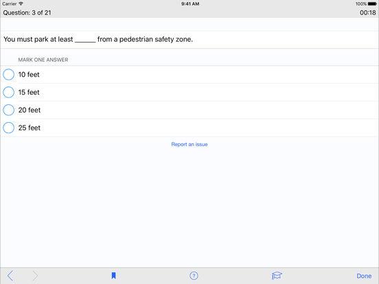 DMV Test Prep - Connecticut iPad Screenshot 3