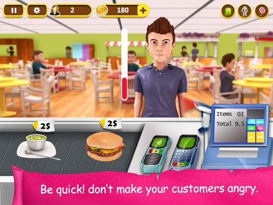 Игра Supermarket Cash Register - Kids Fun Shopping Game
