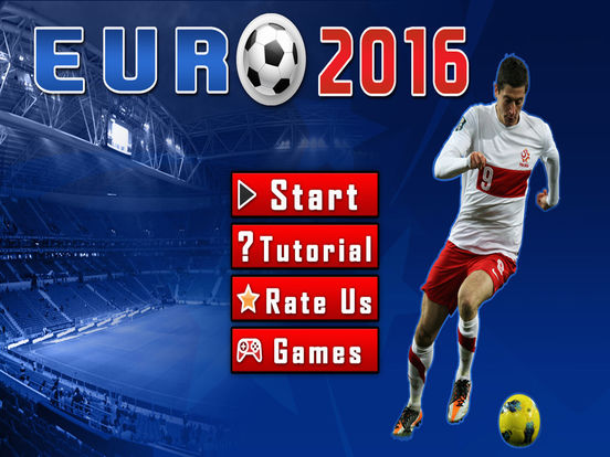 Screenshots of Play real soccer 2016 league cup - Top new free futsal and football games Euro France Germany Italy Spain Edition for iPad