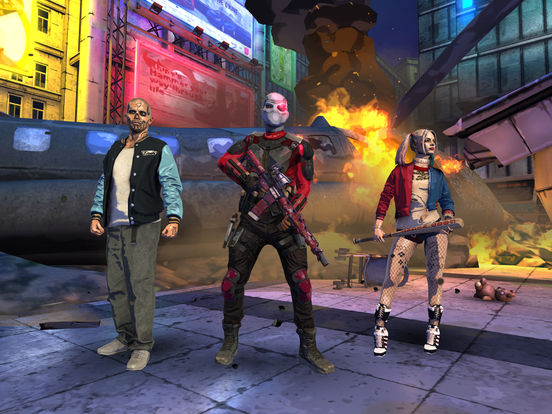 Screenshots of Suicide Squad: Special Ops for iPad