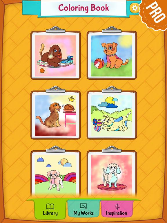 App Shopper Dog Coloring Pages