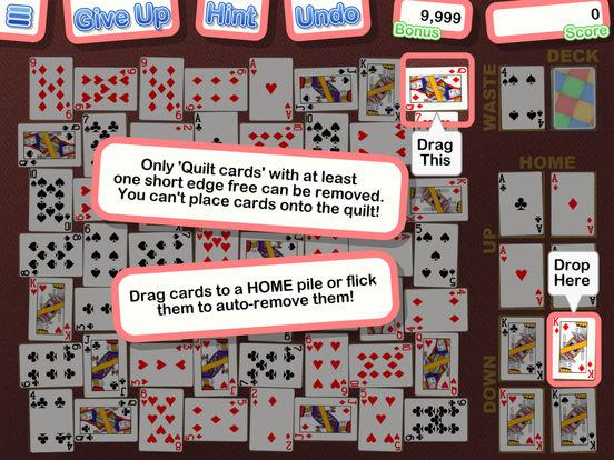 crazy quilt solitaire app