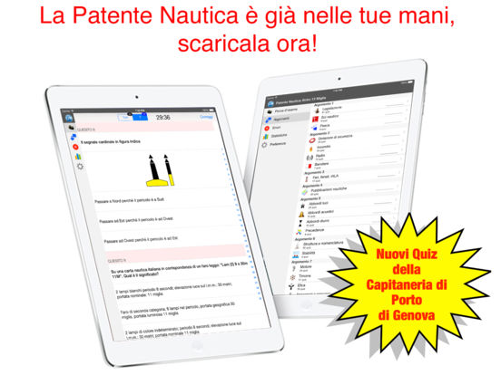 Patente Nautica iPad Screenshot 1