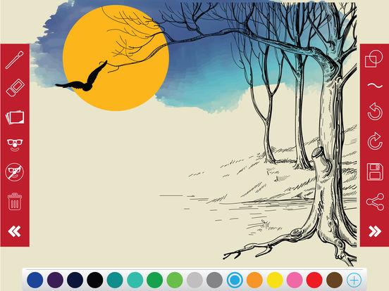 SketchBook - Draw & Sketch Pictures on Pad by Pencil, Kids Art Studio screenshot