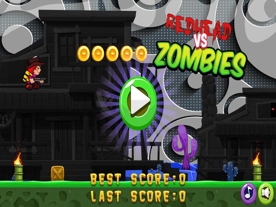 Redhead vs Zombies Screenshots